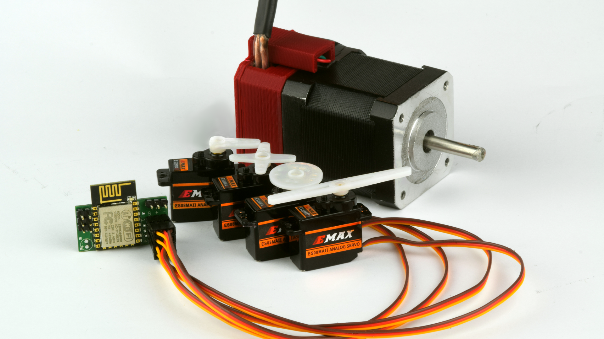 WiFi Motors That Will Take the Mess and Stress Out of Your Projects